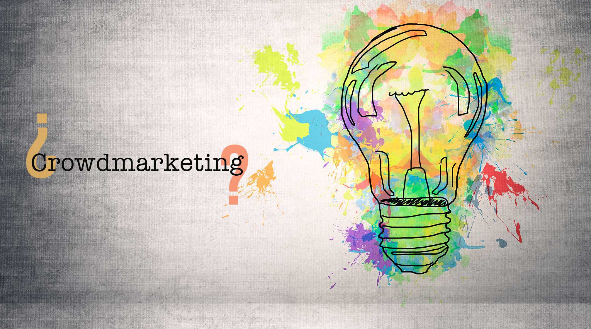 What is Crowdmarketing ?