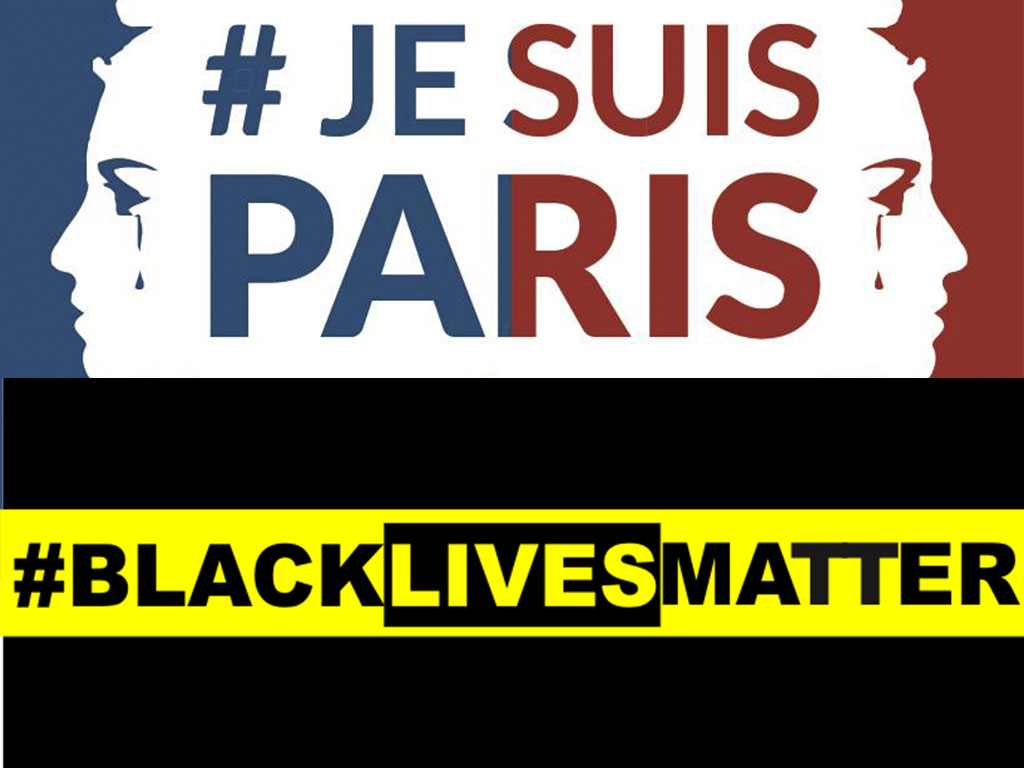 #JeSuisParis and #BlackLivesMatter Are Most Influential Moments On Twitter In 2015