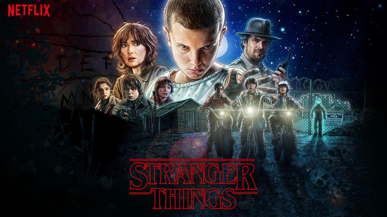 El éxito de Stranger Things