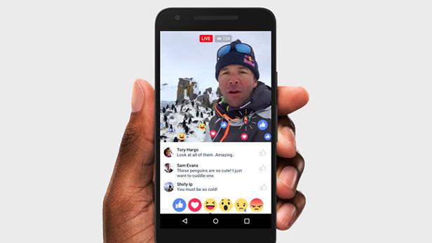 Facebook esta alterando la realidad de los livestream.