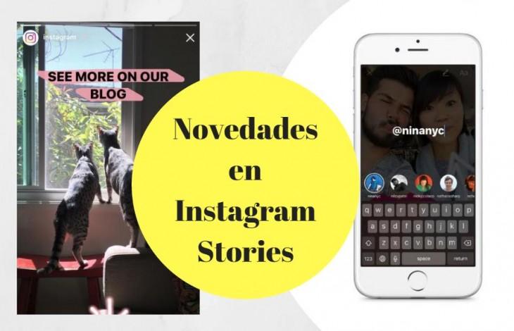 Novedades en Instagram Stories